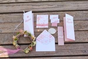 Hochzeitspapeterie-Sommerhochzeit