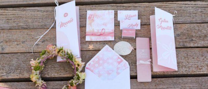 Papeterie für Hochzeiten